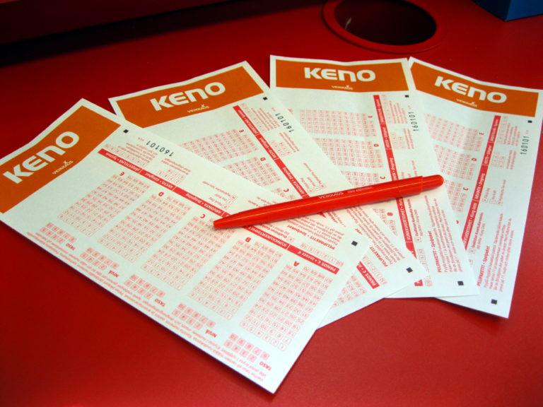 Les règles du jeu Keno
